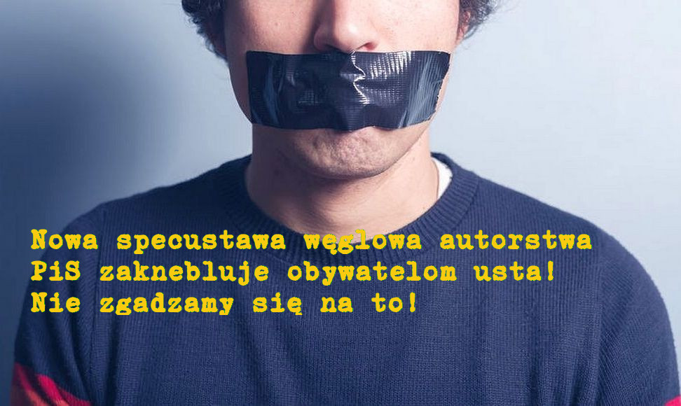 Podpisz list do premiera Morawieckiego w sprawie specustawy węglowej.