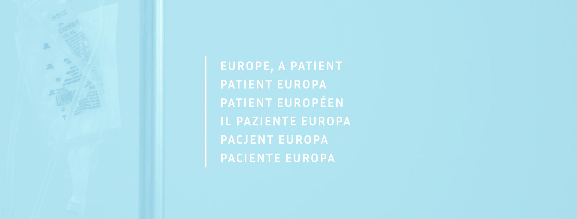 Popieramy #Pacjent Europa -  wszyscy będziemy potrzebować pomocy po pandemii COVID-19